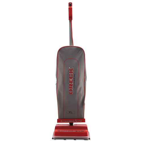 U2000RB-1 Commercial Upright Vacuum, 120 V, Red/Gray, 12 1/2 x 9 1/4 x 47 3/4