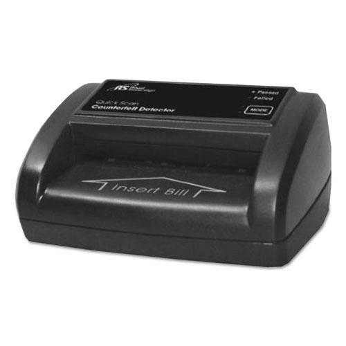 Portable Four-Way Counterfeit Detector, 5 x 3 1/2 x 2 3/8, Black