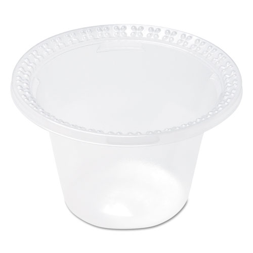 Plastic Dessert Dishes, Clear, 8 oz, 100/Pack, 10/Carton DD08C