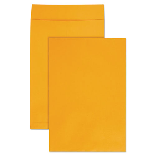 Jumbo Size Kraft Envelope, Fold Flap Closure, 12.5 x 18.5, Brown Kraft, 25/Pack | by Plexsupply