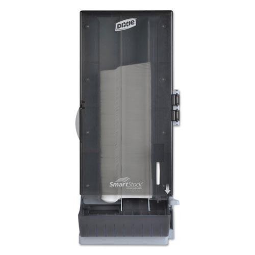 SmartStock Utensil Dispenser, Spoon, 10 x 8.78 x 24.75, Smoke