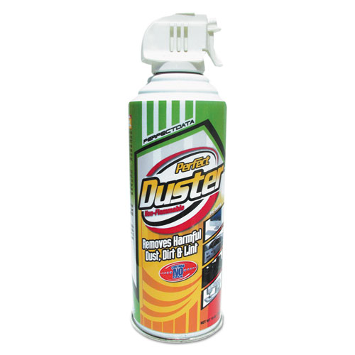 Non-Flammable Power Duster, 10 oz Can, 2/Pk | by Plexsupply