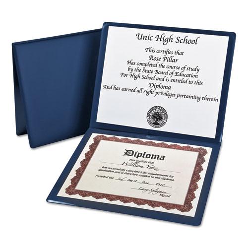 Diploma Cover, 12 1/2 x 10 1/2, Navy