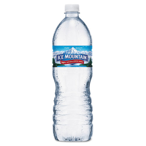 Ice Mountain® Natural Spring Water, 16.9 oz Bottle, 40 Bottles/Carton