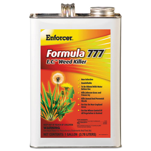 Enforcer® Formula 777 E.C. Weed Killer, Non-Cropland, 1 gal Can, 4/Carton