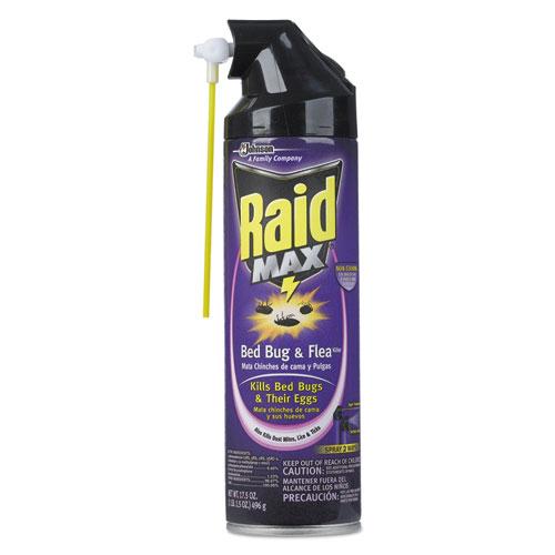Raid® Bed Bug and Flea Killer, 22 oz Bottle, 4/Carton