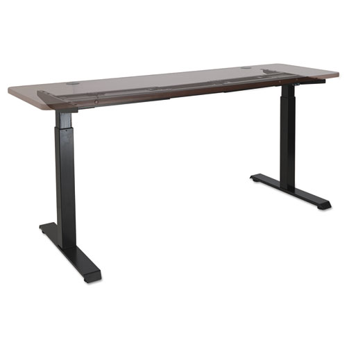 2-Stage Electric Adjustable Table Base, 27.5 to 47.2 High, Black