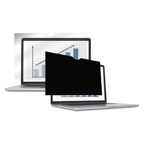 "Fellowes® PrivaScreen Blackout Privacy Filter for 14.1"" LCD/Notebook"