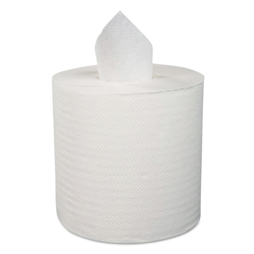 Center-Pull Roll Towels, 1-Ply, 12W, 1000/Roll, 4/Carton