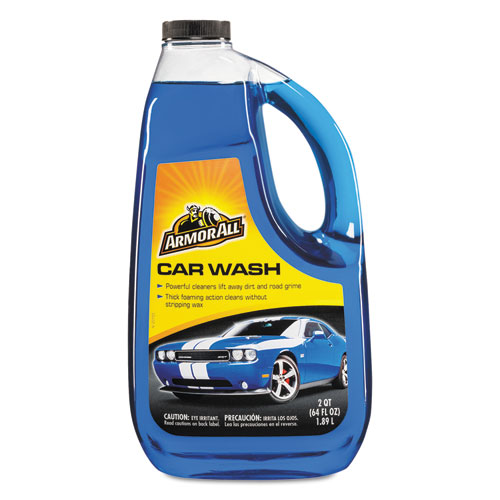 Armor All® Car Wash Concentrate, 64 oz Bottle, 4/Carton