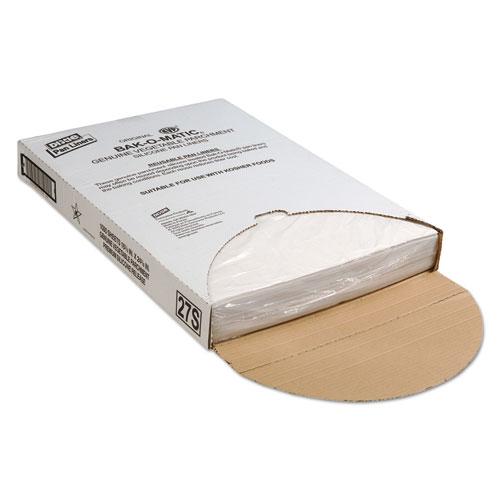 Dixie® Yellow Label Parchment Pan Liner, 12 x 12, 1000/Carton