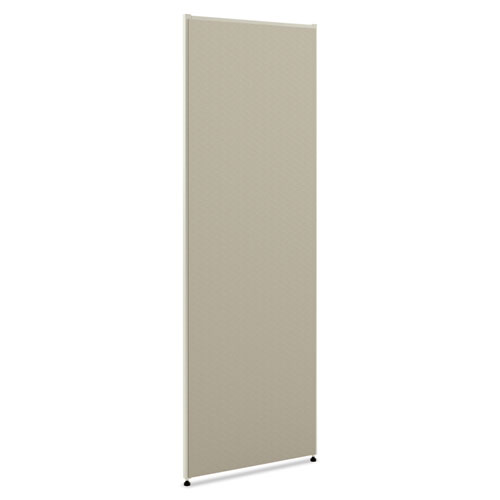 VersE Office Panel, 30w x 72h, Gray | by Plexsupply