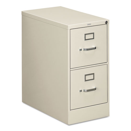 310 Series Two-Drawer Full-Suspension File, Letter, 15w x 26.5d x 29h, Light Gray