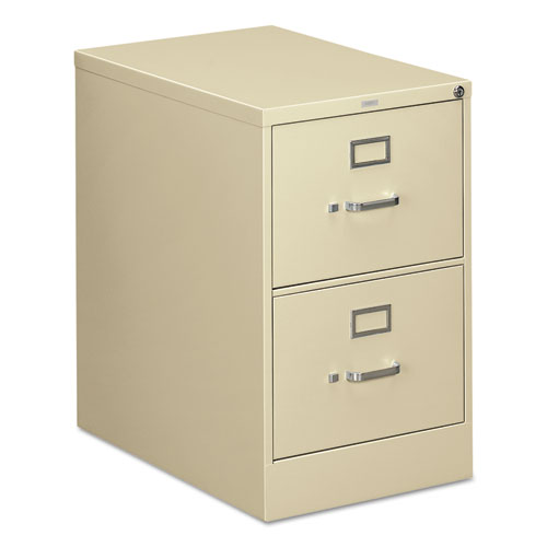 310 Series Two-Drawer Full-Suspension File, Legal, 18.25w x 26.5d x 29h, Putty