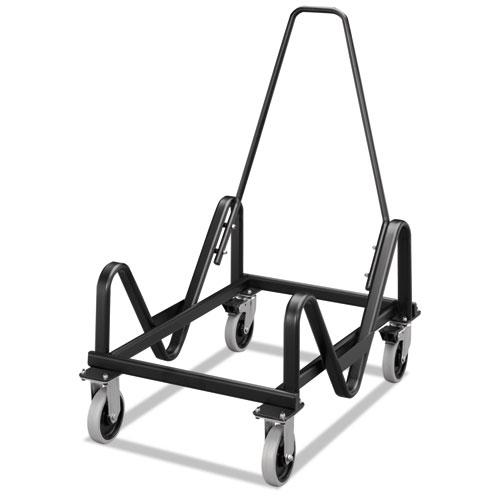 GuestStacker Cart, 21.38w x 35.5d x 37.88h, Black