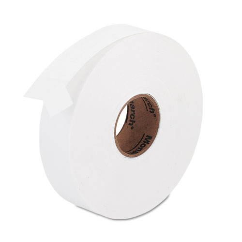 Easy-Load One-Line Labels for Pricemarker 1131, 0.44 x 0.88, White, 2,500/Roll | by Plexsupply