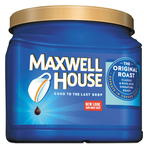 Maxwell House® Coffee, Ground, Original Roast, 30.6 oz Canister, 6 Canisters/Carton
