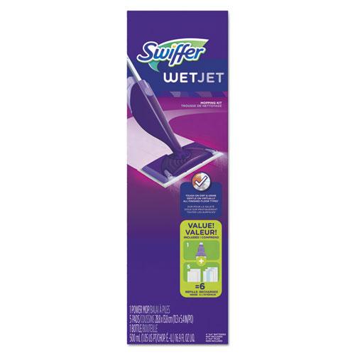 Pgc92811ct Swiffer Wetjet Mop Starter Kit Zuma