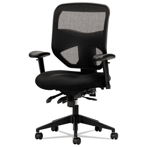 Product Tour  sc 1 st  Cartridge Savers & VL532 Series Mesh High-Back Task Chair Mesh Back Padded Mesh Seat ...