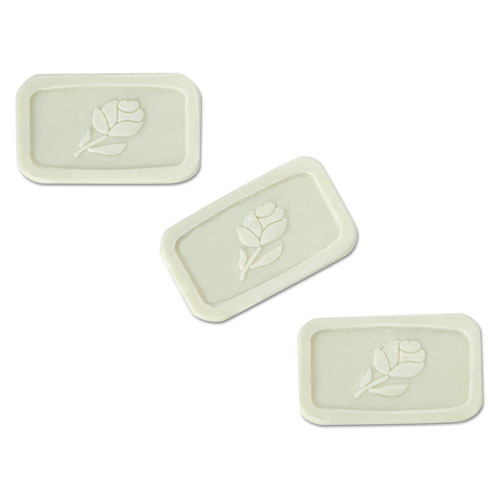 Unwrapped Amenity Bar Soap, Fresh Scent, 1 1/2, 500/Carton