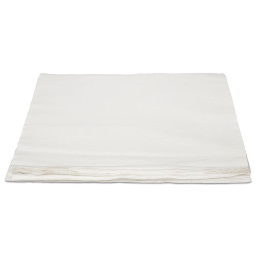 TASKBrand TopLine Linen Replacement Napkins, White, 16 x 16, 1000/Carton | by Plexsupply