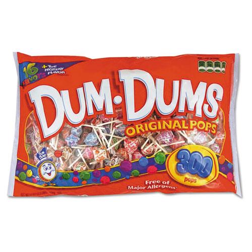 Spangler® Dum-Dum-Pops, Assorted Flavors, Individually Wrapped, Bulk 30lb Carton