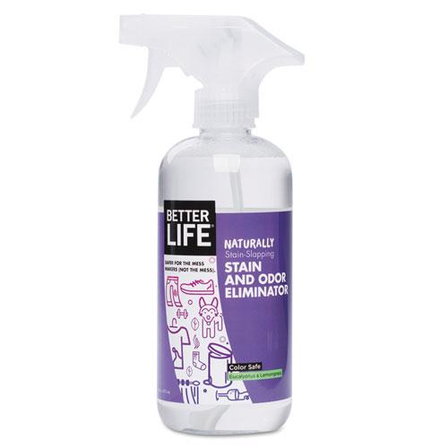 Naturally Stain-Slapping Stain/Odor Eliminator,Lemongrass Eucalyptus,16oz Spray 895454002447