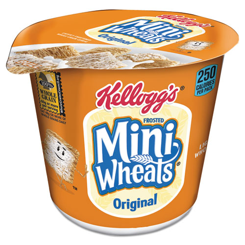 Breakfast Cereal, Frosted Mini Wheats, Single-Serve, 6/Box 42799
