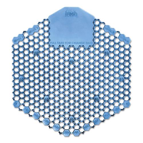 Wave 3D Urinal Deodorizer Screen, Blue, Wintergreen Fragrance, 60 Screens/Carton