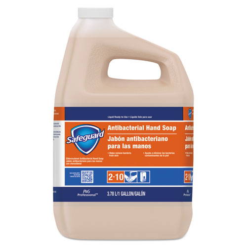 Safeguard® Antibacterial Liquid Hand Soap, 1 gal Bottle, 2/Carton