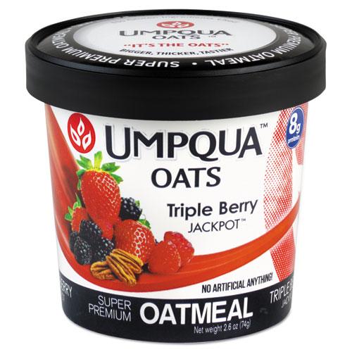 Super Premium Oatmeal, Jackpot, 2.53 oz Cup, 12/Carton 1217JP