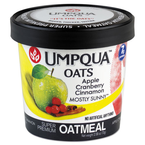 Super Premium Oatmeal, Mostly Sunny, 2.54 oz Cup, 12/Carton 1202MS