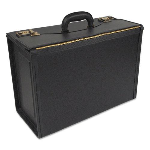 Tufide Classic Catalog Case, 22-1/4 x 8-3/4 x 13-1/2, Black   by Plexsupply