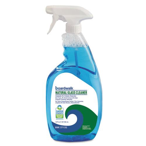 Natural Glass Cleaner, 32 oz Trigger Bottle, 12/Carton