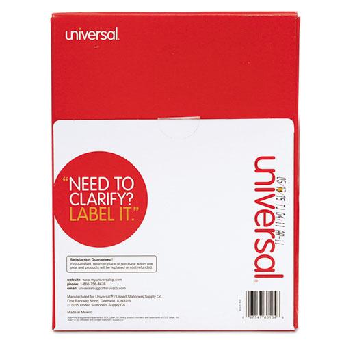 Unv80104 Universal 174 Laser Printer Permanent Labels Zuma
