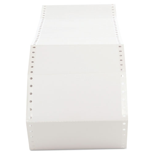 Dot Matrix Printer Labels, Dot Matrix Printers, 2.94 x 5, White, 3,000/Box