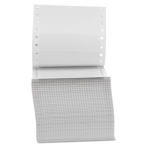 Dot Matrix Printer Labels, 1 Across, 15/16 x 3-1/2, White, 5000/Box
