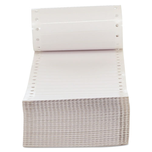 Dot Matrix Printer Labels, Dot Matrix Printers, 0.44 x 3.5, White, 5,000/Box