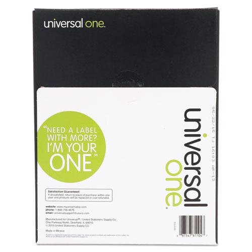 Unv81104 universal laser printer permanent labels zuma for Universal laser printer labels template