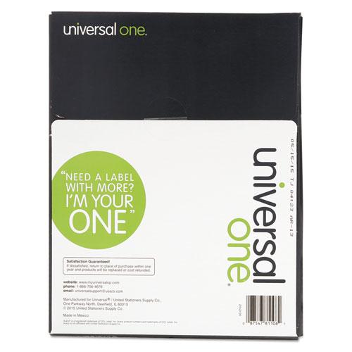 universal laser printer labels template - unv81106 universal laser printer permanent labels zuma