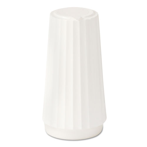 Classic White Disposable Salt Shakers, 4 oz, 48/Case | by Plexsupply