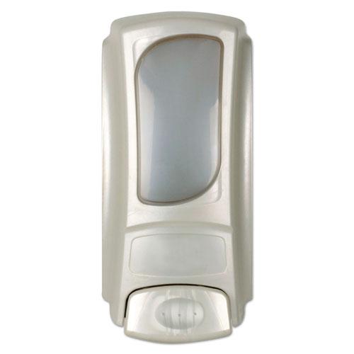 Hand Care Anywhere Flex Bag Dispenser, 15 oz Refills, 4 x 3.1 x 7.9, Pearl