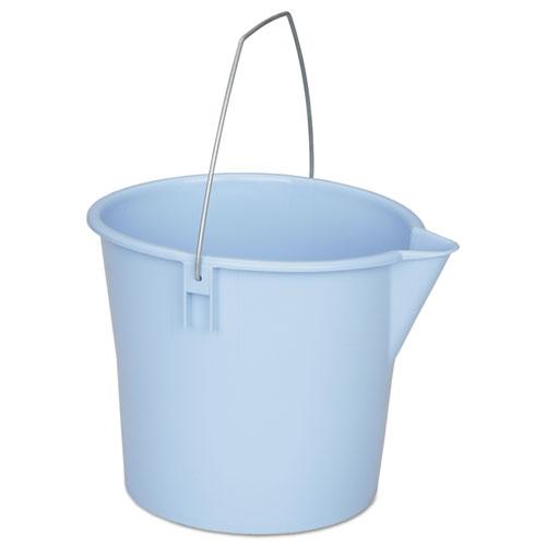 7240000606006, Utility Pail, Polyethylene, 10 qt, Blue