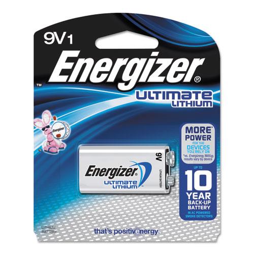 Energizer® Ultimate Lithium 9V Batteries