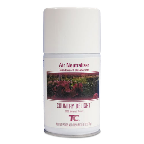 TC Microburst Air Neutralizer Refill, Country Delight, 6 oz, 12/Carton