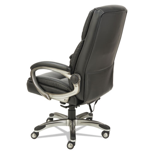 shiatsu massage chair black silver base. Black Bedroom Furniture Sets. Home Design Ideas