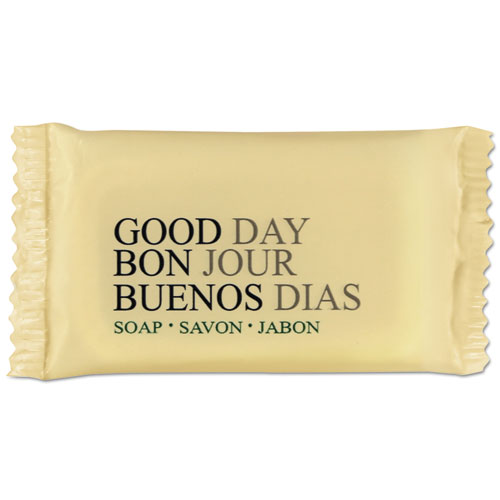 Amenity Bar Soap, Pleasant Scent,  1/2, 1,000/Carton