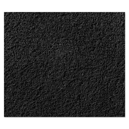 Nomad 8850 Heavy Traffic Carpet Matting, Nylon/Polypropylene, 36 x 120, Black