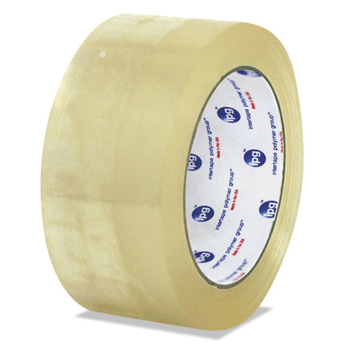 Clear Packaging Tape, 3 Core, 72 mm x 100 m, Clear, 24/Carton