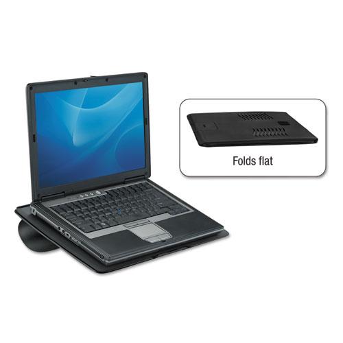 Laptop Riser, Non-Skid, 15 x 10 3/4 x 5/16, Black